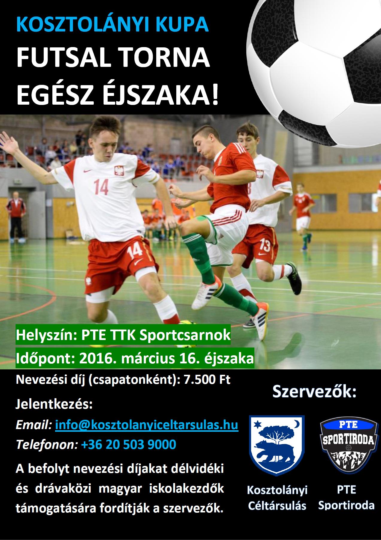 Kosztolányi Futsal Torna v2