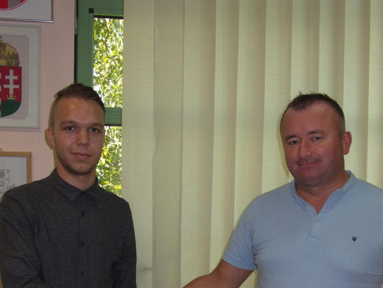 Új irodavezetőnk bemutatkozó látogatása Drávaszögben