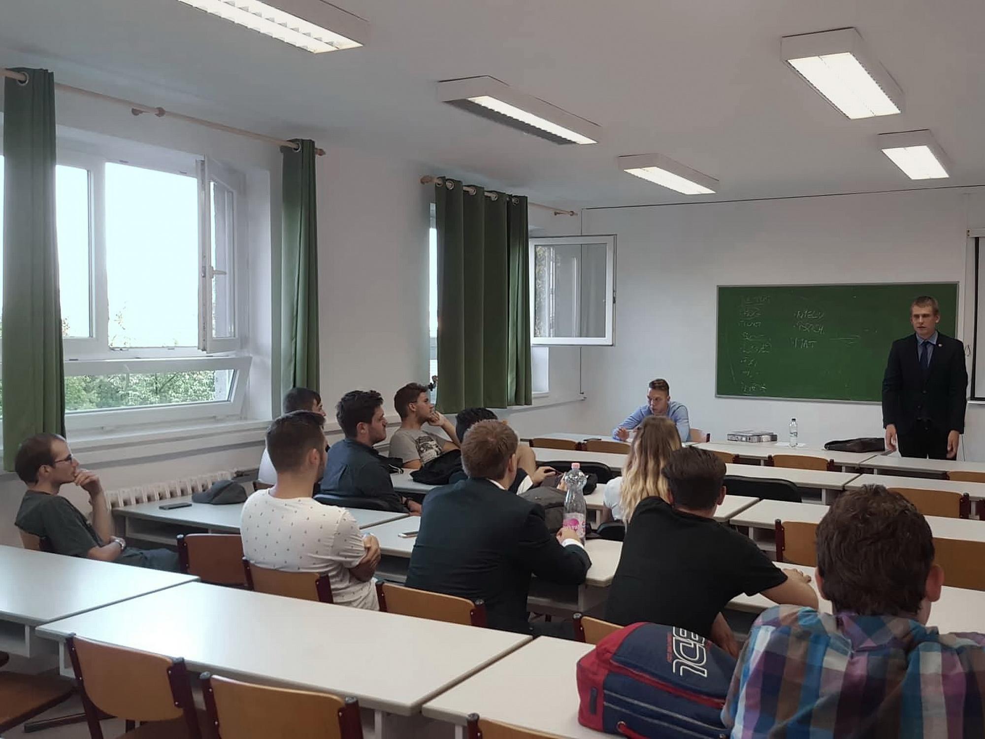 A Kosztolányi Dezső Nemzetstratégiai Szakkollégium félévnyitó közgyűlése