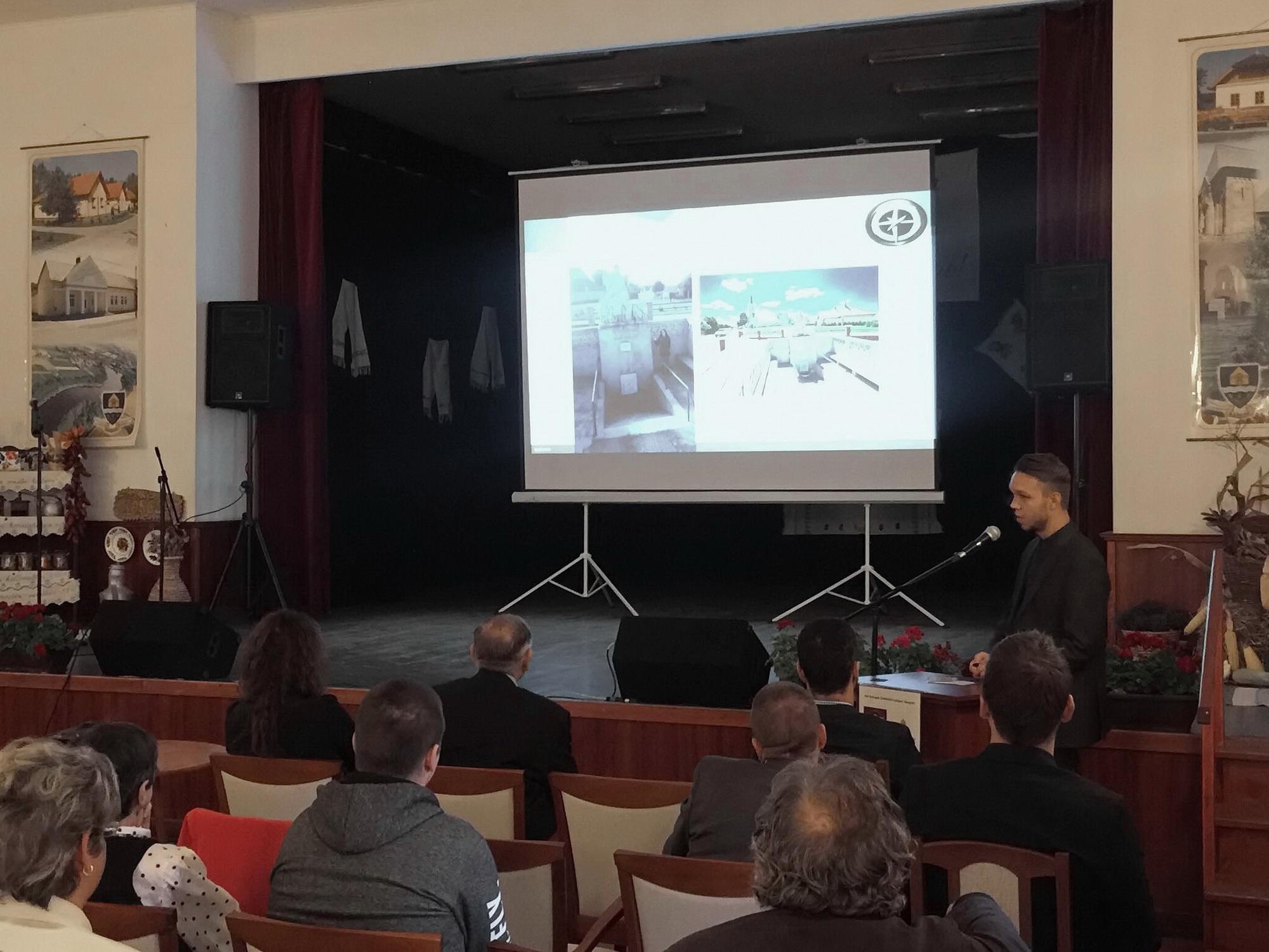 Kis Róbert az Alsó-Bodrogköz Kollégium zárókonferenciáján