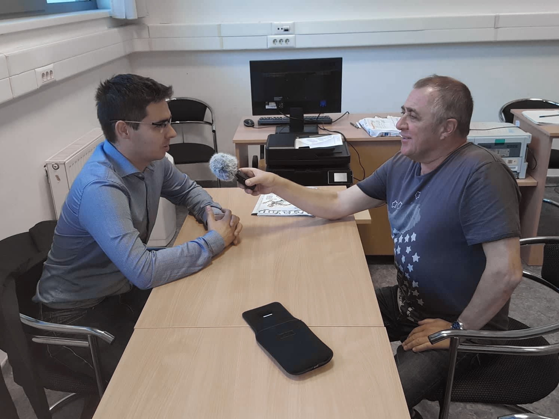 Interjú a Céltársulásról a Kossuth Rádióban