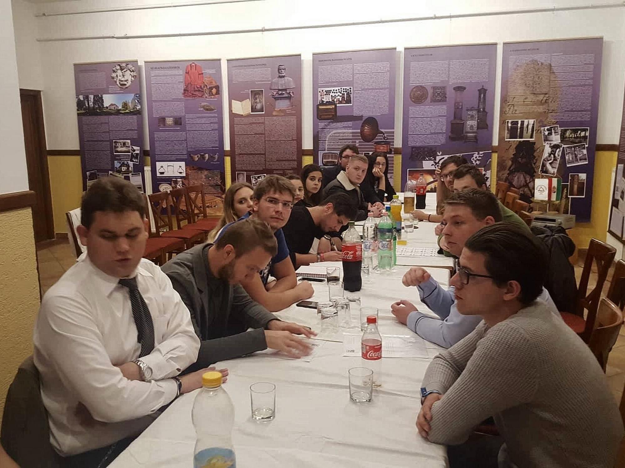 A Nemzetstratégiai Szakkollégium októberi közgyűlése