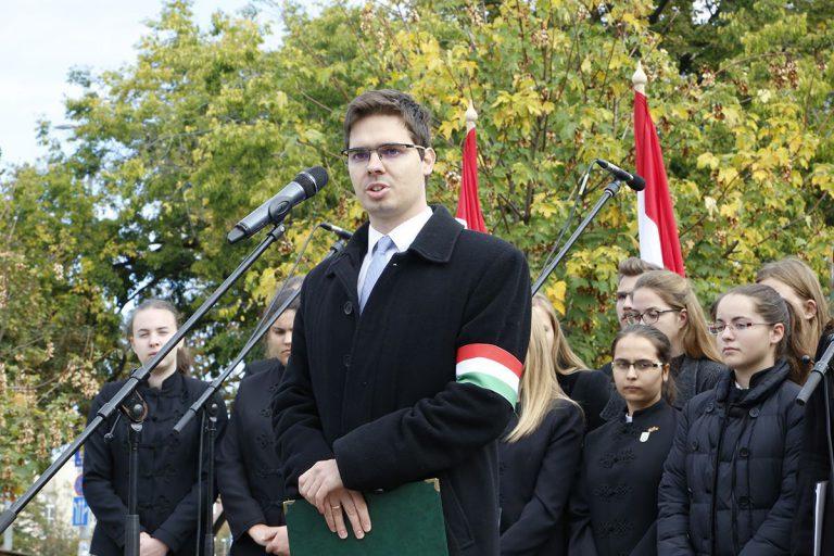 Barkóczi Csaba beszéde 2018. október 23-án a pécsi városi megemlékezésen