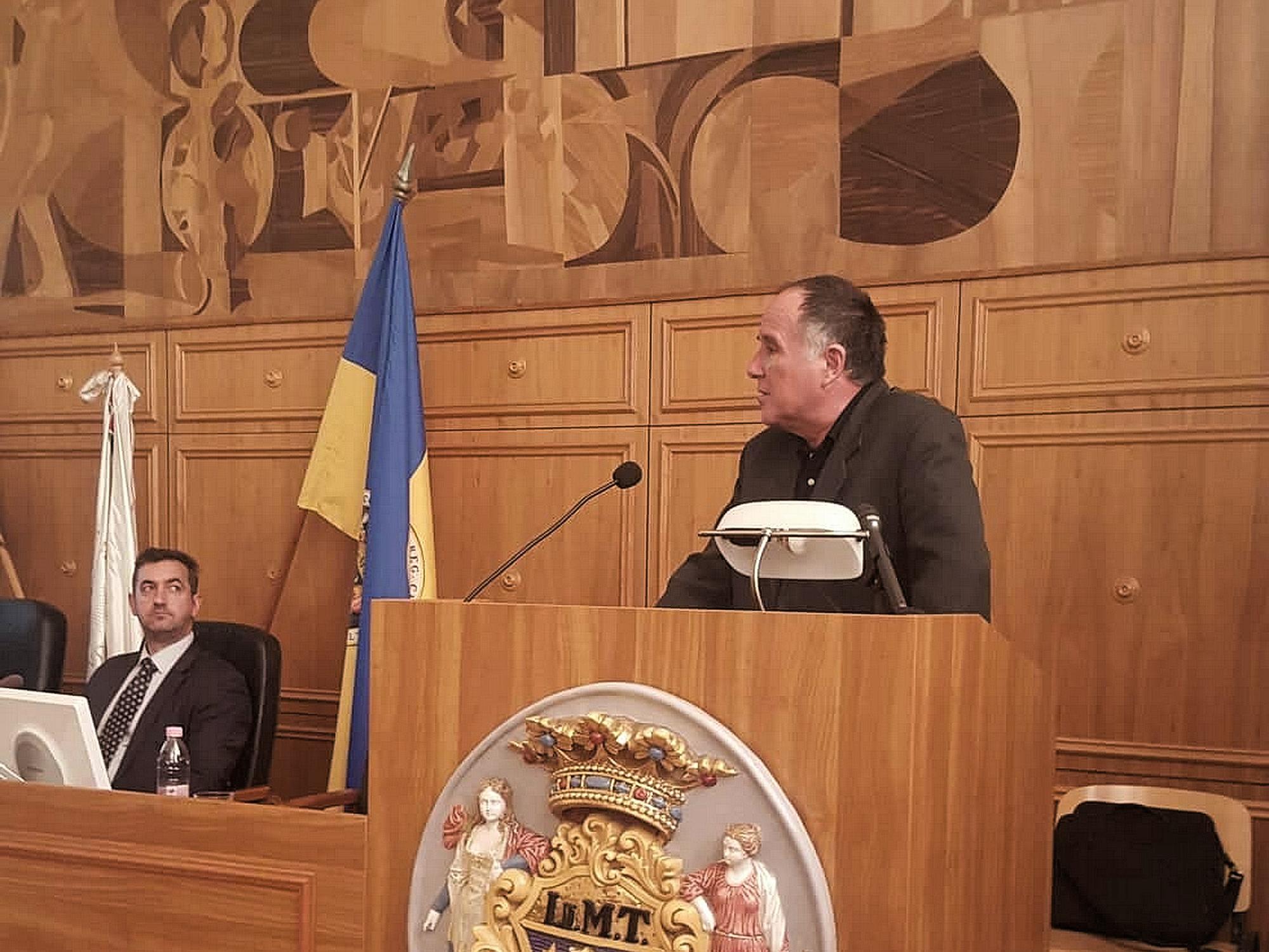 Trianon és a vasút kapcsolatáról beszélt Pécsett Dr. Majdán János