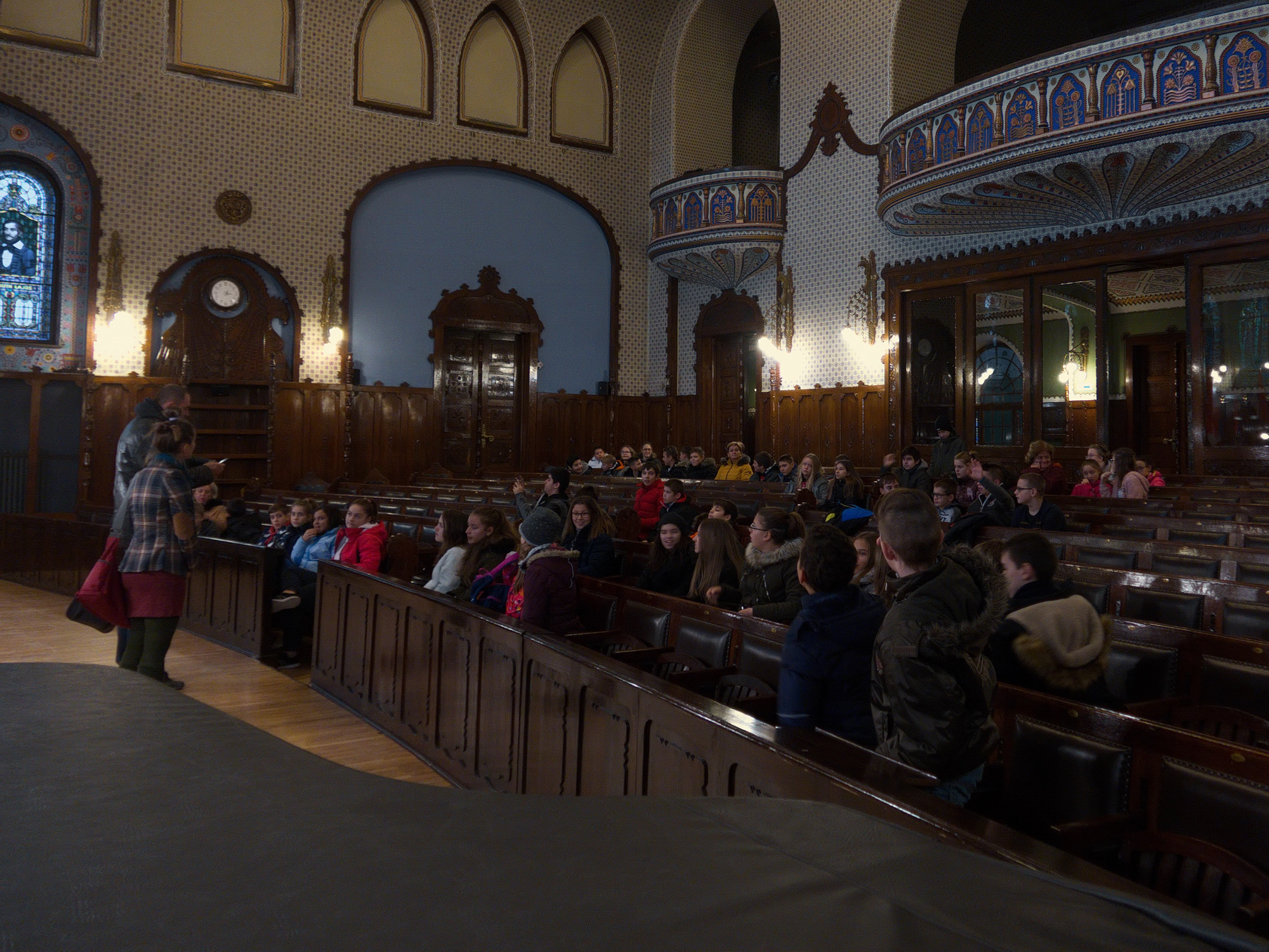 Pécsi ANK-s diákok Mikulás-túra alkalmából a Vajdaságban