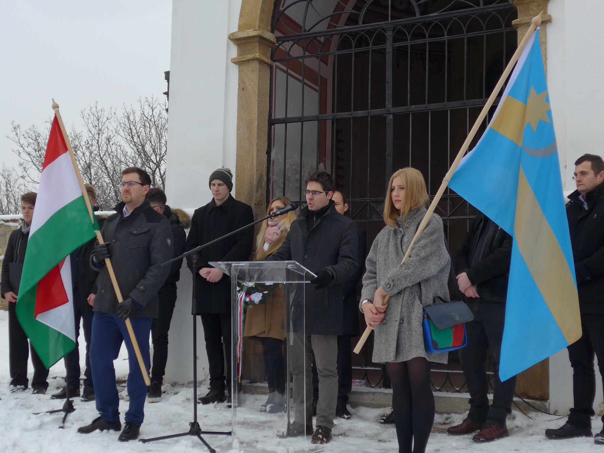 Barkóczi Csaba köszöntője 2019. január 23-án a Remény Útja megemlékezésen