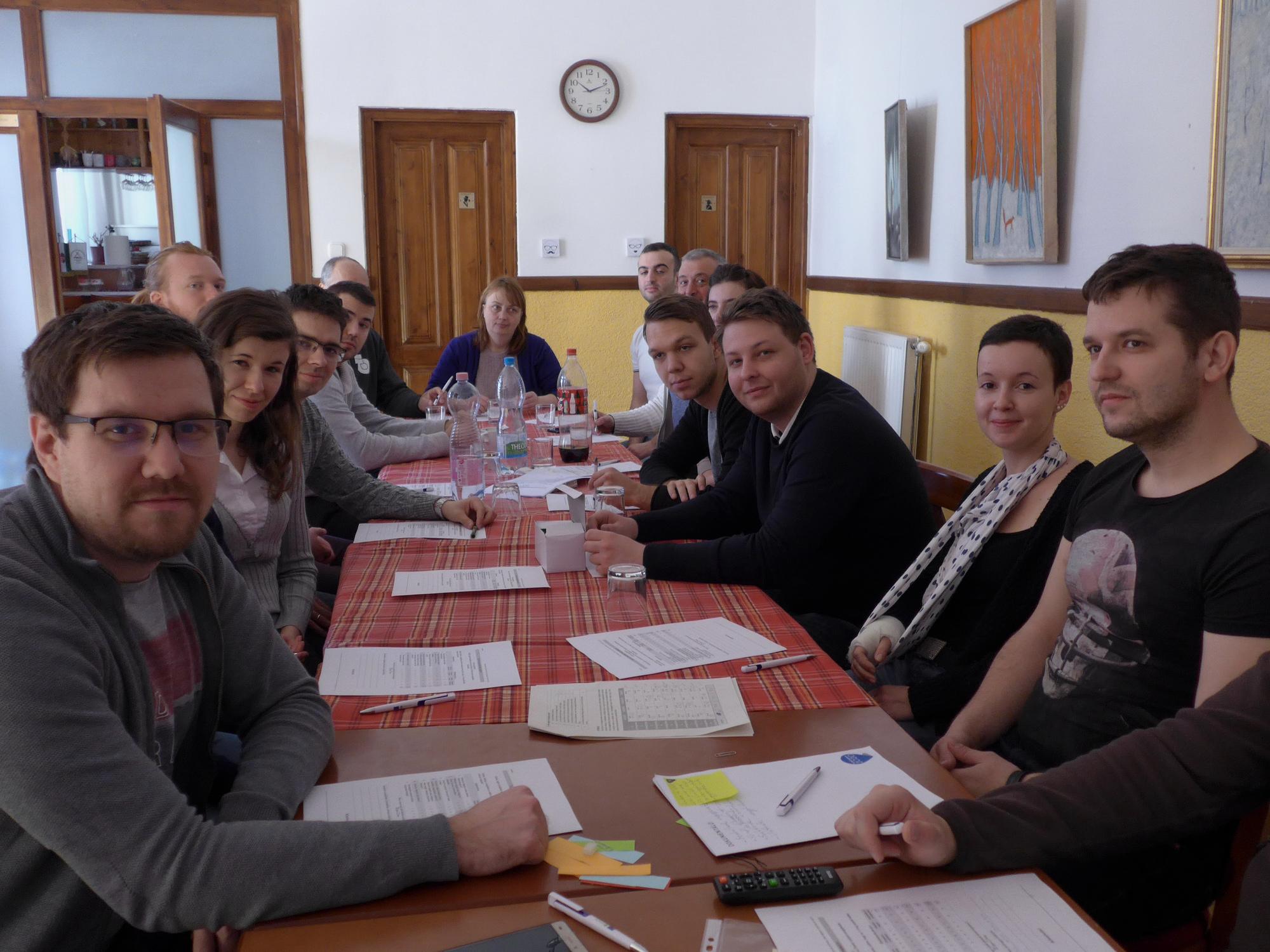 Pécsre látogatott torontálvásárhelyi tagságunk