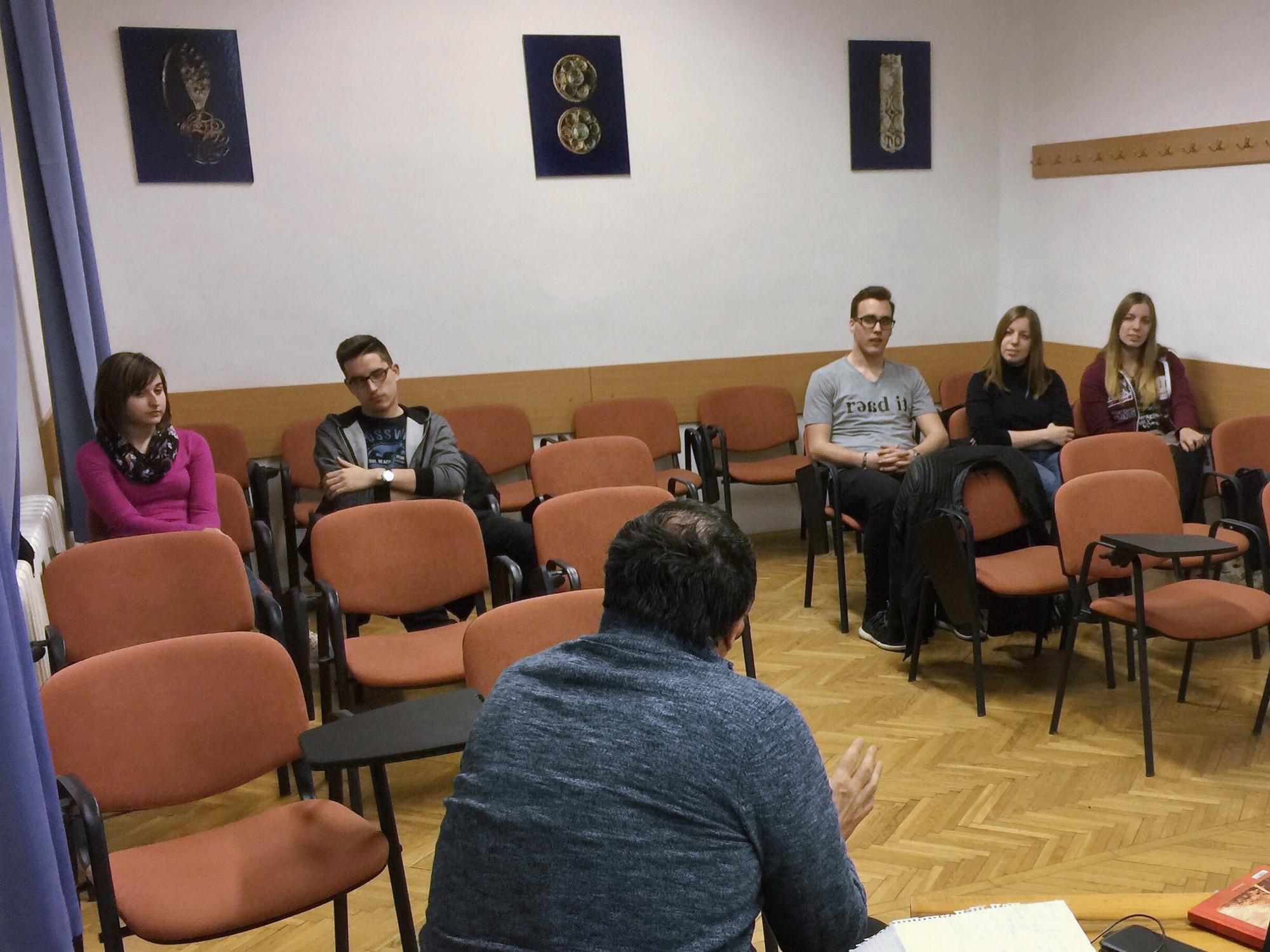 Hetedik félévében a Kosztolányi Tehetségprogram