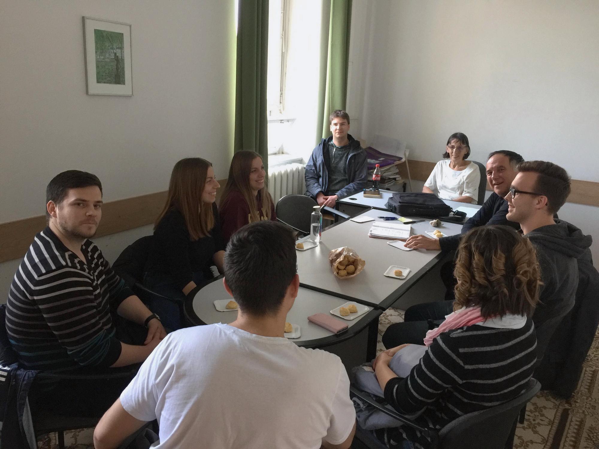 Kosztolányi Tehetségprogram: kiértékelő megbeszélés